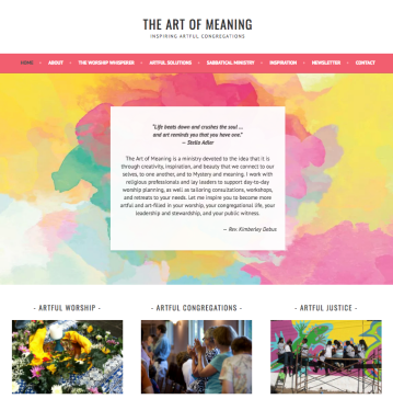 The Art of Meaning home page